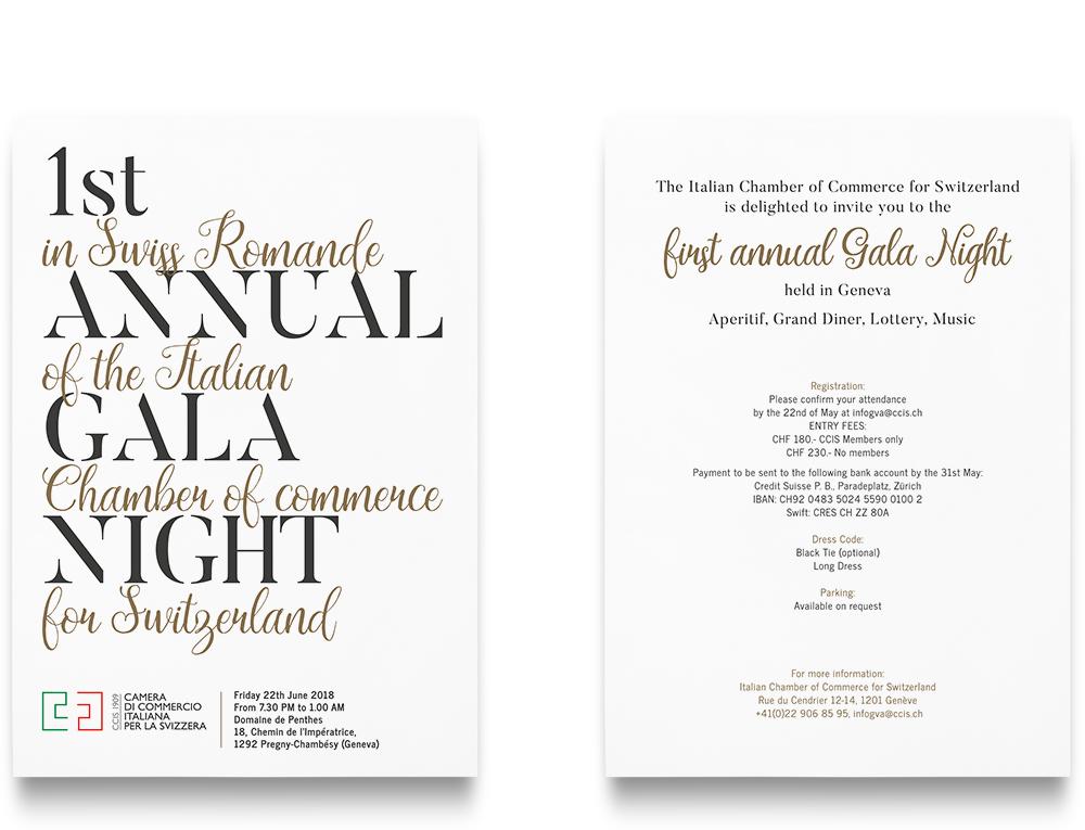 Gala Night Invitation For Ccis Ilariaalduini Com